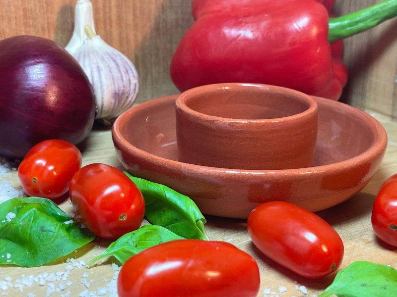 Oliventeller Terracotta